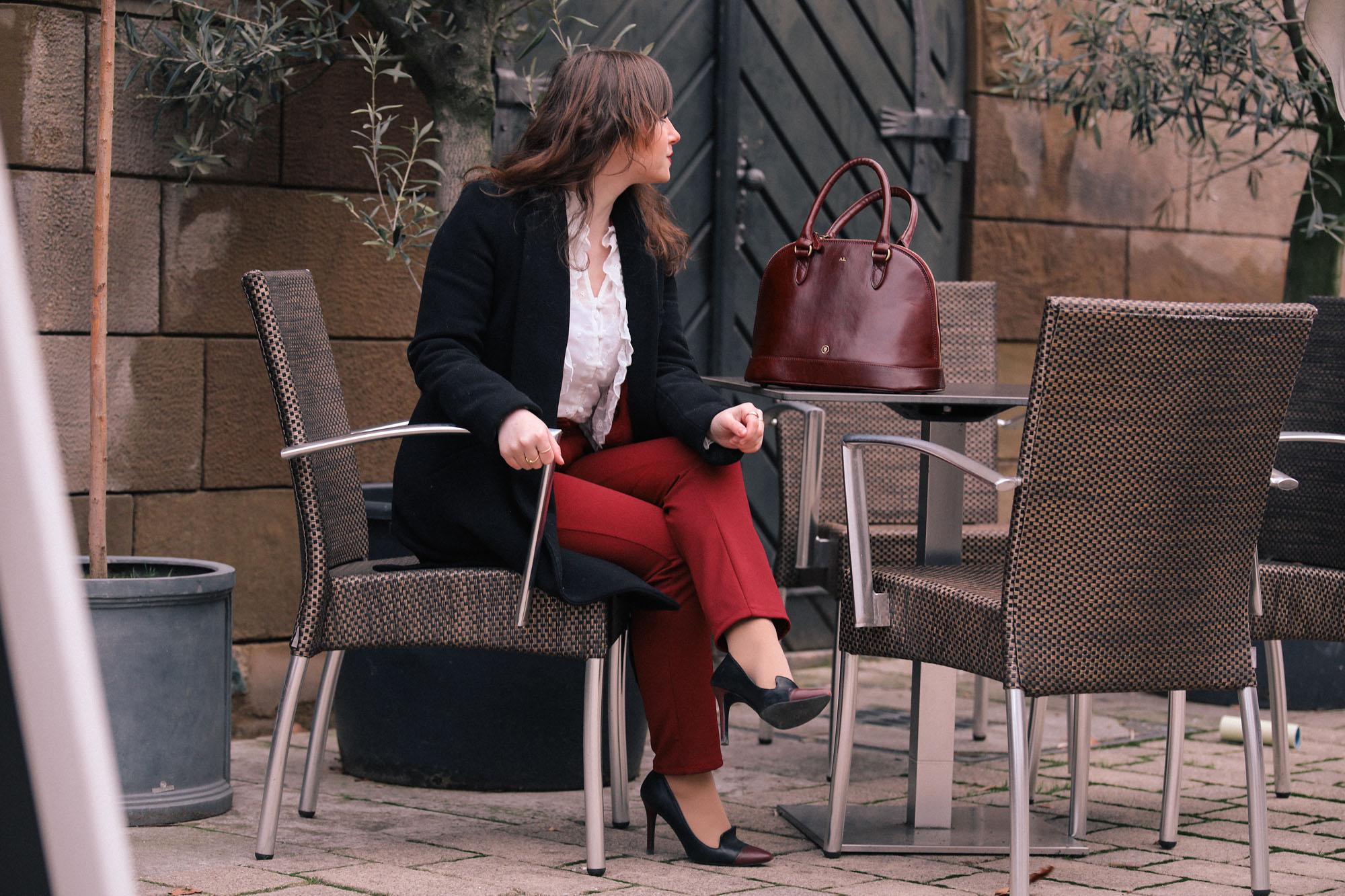 Die perfekte Tasche fürs Büro -Fashionblog Style by An