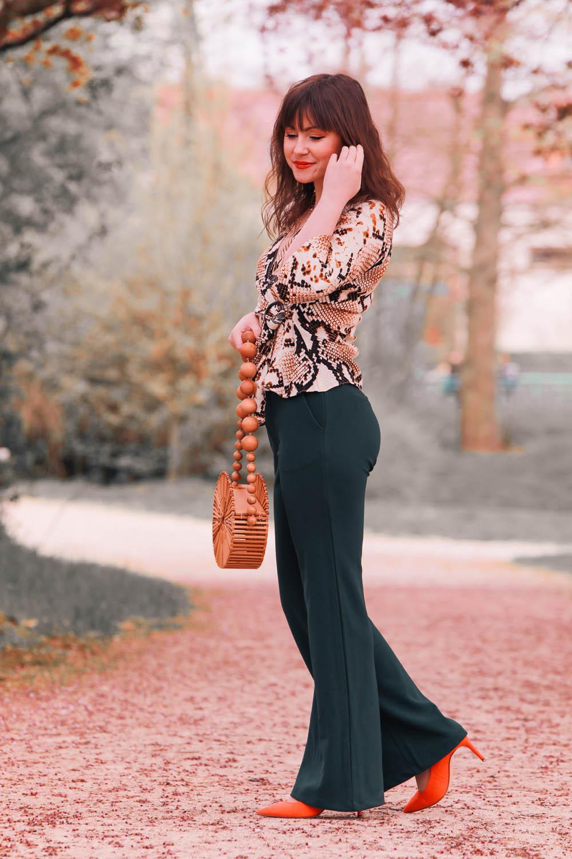 Modetrend 2019-Schlangenmuster