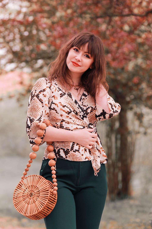 Schlangenmuster-Modeblog aus Deutschland
